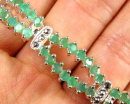 Bracelet with EMERALDS  85.00 CTS   90684