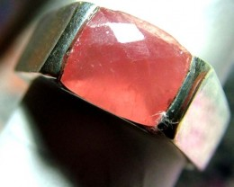 39.42  CTS  RHODHONITE RING NICE DESIGN  SIZE-8 SG-2246
