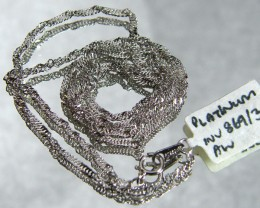 3.5 grams 44 CM LONG PLATINUM CHAIN LGN 828