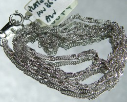 3.1 grams 40 CM LONG PLATINUM CHAIN LGN 830