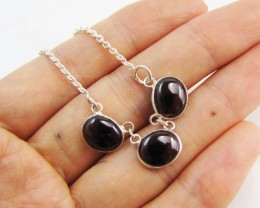 33Cts Beautiful natural Garnet Necklace   MJA 1178