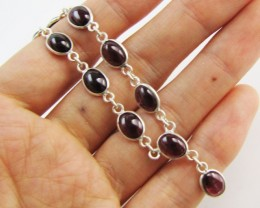 40 Cts Beautiful natural Garnet Necklace   MJA 1180