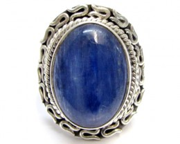 Kyanite Ggemstone Ring Size 8  MJA 343