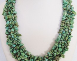 700 Cts Natural Turquoise Necklace  MJA 1062