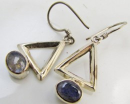 Labradorite in Sheppard  Silver Earrings   10  MJA 985