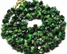 105.00 CTS  NATRUAL EMERALD NECKLACE  WITH CLIP [SJ2680]