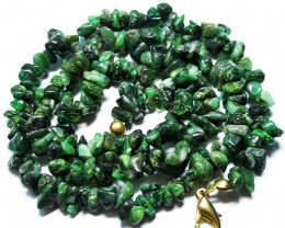 100.00 CTS EMERALD NECKLACE  WITH CLIP [SJ2682]