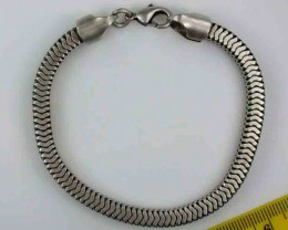 NATURAL PEWTER BRACELET RETAIL $39.99  PE 30