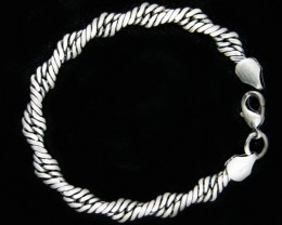 Design Pewter Bracelet   PE72
