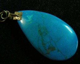 30 CTS HOWLITE PENDANT 11195