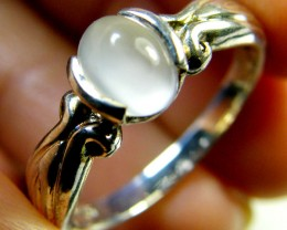 MOONSTONE GEMSTONE RING SIZE 7-7.5  MY 513