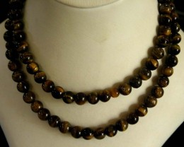 MASSIVE AGATE NECKLACE  BEAD STRAND   11 073A