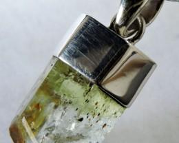 Beryl Gemstone silver bale  MJA 1274