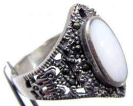 MOTHER PEARL RINGS RING SIZE  10 MJA724
