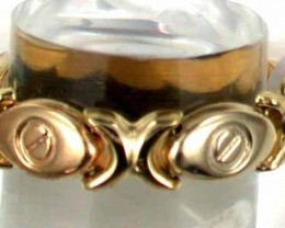 3.42 grams 18K GOLD MULTI LINK RING SIZE 9 1/2 3.42 GRAMS GR2
