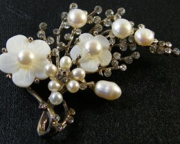 SOUTH CHINA SEAS PEARL PENDANT/BROCHE 96.3 CTS SGS1106