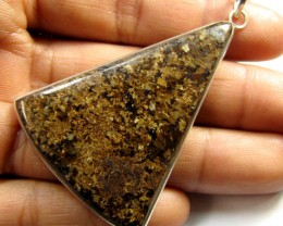 BEAUTIFUL BRONZITE  PENDANT MYG 1336