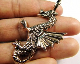 BRONZE DRAGON PENDANT RT 217