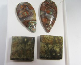 PARCEL DEAL NATURAL JASPER EARRINGS MYGM 423