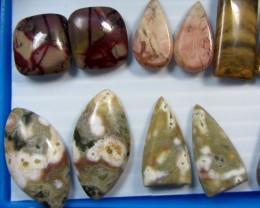 8 MIXED GEMSTONE EARRINGS-RE SELLERS PARCEL  MYGM 496