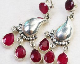 43.60  CTS  RUBY EARRINGS AFRICA  [SJ1733]