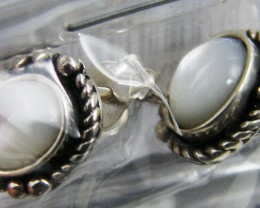 TRADE DEAL 3 LARGE SHELL SILVER EARRINGS  MYT 269