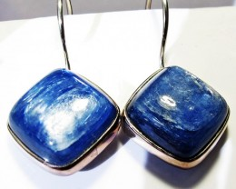 KYANITE EARRINGS-SILVER [SJ4174]