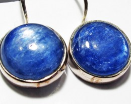 KYANITE EARRINGS-SILVER [SJ4182]