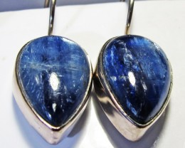 KYANITE EARRINGS-SILVER [SJ4171]