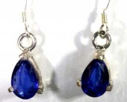 KYNITE SILVER EARRINGS 10   CTS  TBJ-738