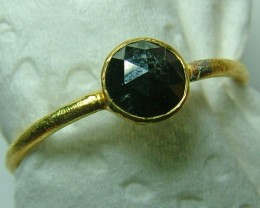 BLACK DIAMOND ROSECUT-RING 8 CTS SG-418