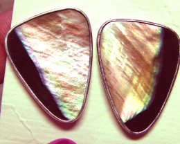 SHELL EARRINGS HIGH QUALITY  34 CTS SG-262