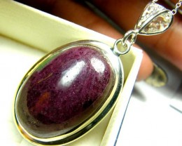 RUBY ZOISITE PENDANT 58 CTS SG-2088