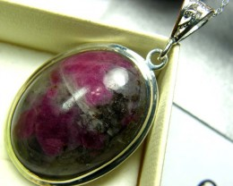 RUBY ZOISITE PENDANT 46CTS SG-2085
