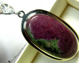 RUBY ZOISITE PENDANT 63 CTS SG-2084