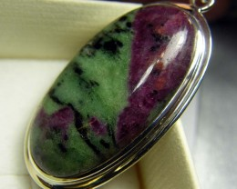 RUBY ZOISITE PENDANT 67 CTS SG-2082