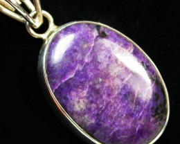 56.80 CTS CHAROITE PENDANT RT 870A