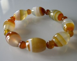 TOP QUALITY AGATE BRACELET...UNIQUE.