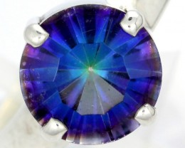 RING SIZE MYSTIC QUARTZ SILVER -FACTORY DIRECT [SJ4209]