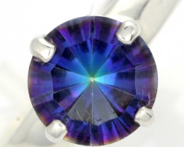 RING SIZE MYSTIC QUARTZ SILVER -FACTORY DIRECT [SJ4214]