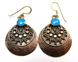 HOWLITE BRONZE EARRINGS RT 269
