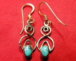 HOWLITE BRONZE EARRINGS RT 288