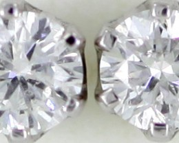 Australian 9ct  Gold Classic Diamond Earrings .25 ct  JAO30