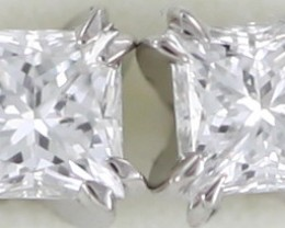 Australian 9ct  Gold Classic Diamond Earrings .20 ct  JAO43