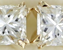 Australian 9ct  Gold classic Diamond Earrings .30 ct  JAO 26