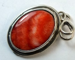 CORAL TORQUOISE   PENDANT 17.5 CTS TBJ-21