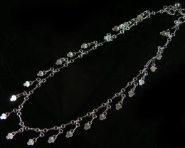 SILVER ANKLET   925  CHAIN  10  INCHES  /  25 CM  CMT 112