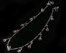 CIRCLE CHARM ANKLET SILVER 925 CMT 121