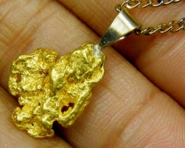 GOLD NUGGET PENDANT 3.44   GRAMS LGN 831