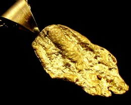 GOLD NUGGET PENDANT 1.72 GRAMS LGN 854